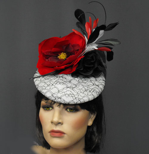 ed6f46b4 women's Kentucky Derby hats large or small size custom, ladies small  Preakness cocktail occasion dress hats couture